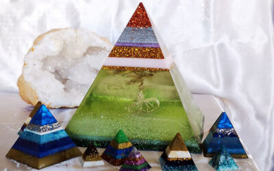 Piramide di orgonite per aumentare il tuo benessere