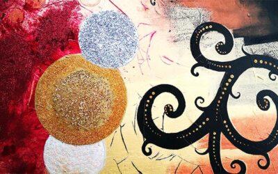 Quadri materici astratti, dipinti a mano, per arredare casa